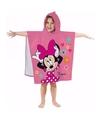 Minnie mouse badcape voor kinderen