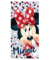 Minnie mouse badlaken met stippen