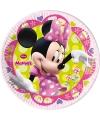 Minnie mouse feestbordjes 8 stuks