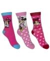 Minnie mouse meisjes sokken 3 pak roze