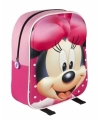 Minnie mouse rugtasje 3d voor kinderen