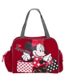Minnie mouse shopping tas rood