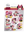 Minnie mouse stickers 7 stuks type 2