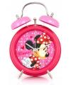 Minnie mouse wekker roze