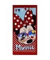 Minnie mouse zonnebril badlaken 70 x 140 cm