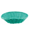 Mint groen rieten mandje 20 cm
