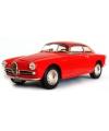 Modelauto alfa romeo giulietta sprint rood 1 24