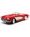 Modelauto chevrolet corvette cabrio 1958