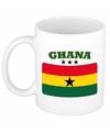 Mok beker ghanese vlag 300 ml