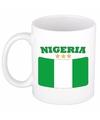 Mok beker nigeriaanse vlag 300 ml