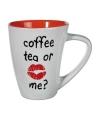 Mok coffee tea or me oranje 285 ml