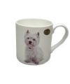 Mok west highland terrier hond