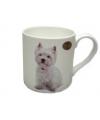 Mok west highland terrier hond