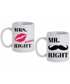Mokken set mr mrs right 300 ml