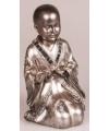 Monnik beeldje geknield 18 cm