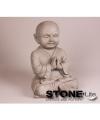 Monnik beeldje mediterend 25 cm