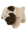 Mopshond pluche knuffel 28 cm