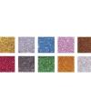 Mozaiek steentjes glitter kleuren