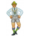 Mr oktoberfest wanddecoratie