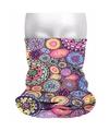 Multifunctionele morf sjaal hippie print
