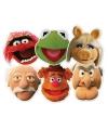 Muppetshow maskers 6 stuks