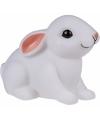 Nachtlampje konijn haas met led verlichting 10 cm