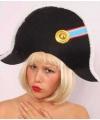 Napoleon hoed met rozet