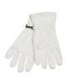 Naturel fleece handschoenen voor volwassenen