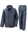 Navy all weather regenpak voor volwassenen