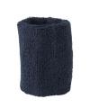 Navy blauw zweetbandje voor de pols