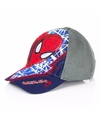 Navy blauwe spiderman kinderpet
