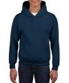 Navy capuchon sweater voor jongens