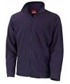 Navy fleece vest viggo voor heren