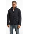 Navy softshell herenjack