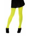 Neon gele dames panty 60 denier