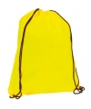 Neon gele gymtas met rijgkoord