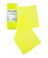Neon gele organza stof op rol 12 x 300 cm