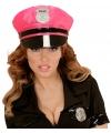 Neon roze politie pet