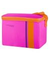 Neon roze thermos kleine koeltas 4 liter