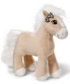 Nici knuffel paard licht bruin 25 cm