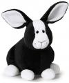 Nici pluche konijn zwart 16 cm