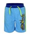 Ninja turtles korte broek blauw voor jongens