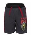 Ninja turtles korte broek zwart voor jongens