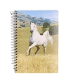 Notitieboekje a6 wit paard