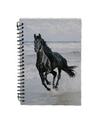 Notitieboekje a6 zwart paard