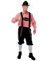 Oktoberfest groene tiroler broek voor heren