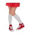 Oktoberfest lange dames sokken wit