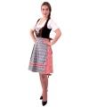 Oktoberfest rode dirndl jurk helga