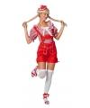 Oktoberfest sexy lederhose rood