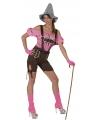 Oktoberfest sexy tiroler kleding voor dames